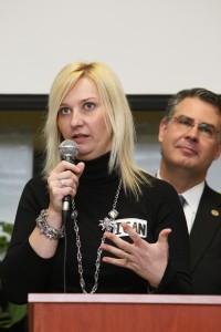 Zsuzsanna Diamond, 2012 Milken Award Winner